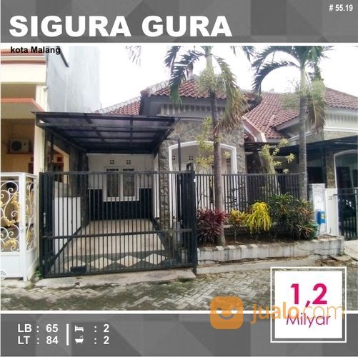 Rumah Murah Luas 84 Di Sigura Gura Kota Malang _ 55.19 (18566591) di Kota Malang