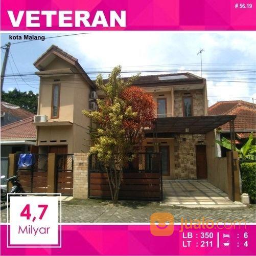 Rumah 2 Lantai Luas 211 Di Veteran Matos Kota Malang _ 56.19 (18566759) di Kota Malang
