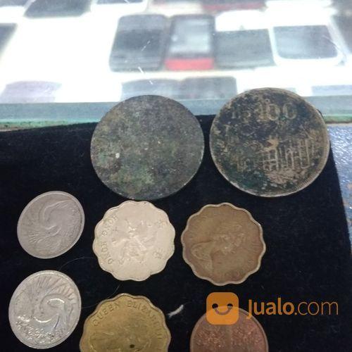 Uang singapore hongko koleksi uang dan koin 18569103