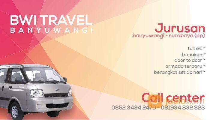Travel Banyuwangi - Surabaya Malang Denpasar Bali (PP) (18574271) di Kab. Banyuwangi