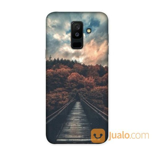 Walk On A Bridge Samsung Galaxy J8 2018 Custom Hard Case (18583847) di Kota Bekasi
