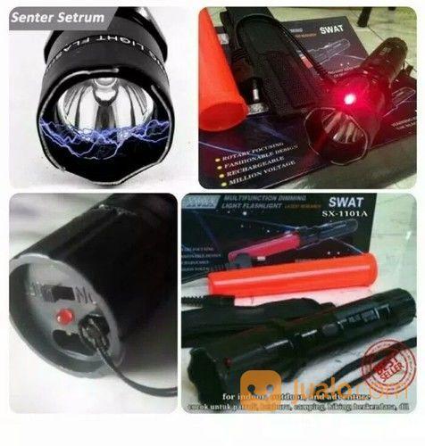 Senter Setrum / Stungun Swat Laser (18644239) di Kota Medan