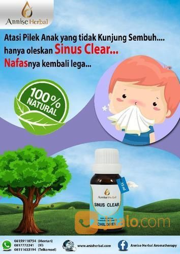 Sinus clear oil child terapi dan pengobatan 18689179