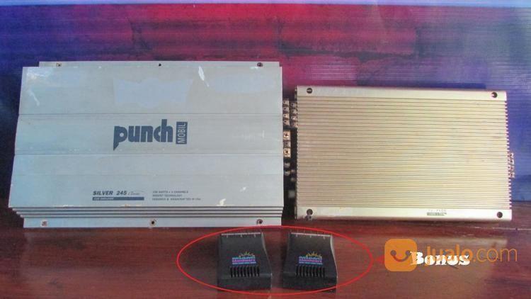 Power Audio Amplifier Mobil Punch Silver 245 Classic BONUS Miami Soundwork (18838767) di Kab. Sumedang