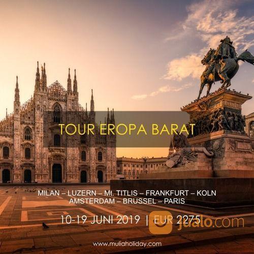 Tour Eropa Barat 10-19 Juni 2019, Libur Lebaran Dan Libur Sekolah (18876507) di Kota Depok