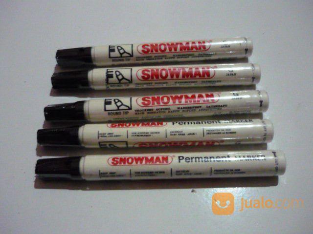 Spidol Permanent Marker Merk Snowman (18890515) di Kota Yogyakarta