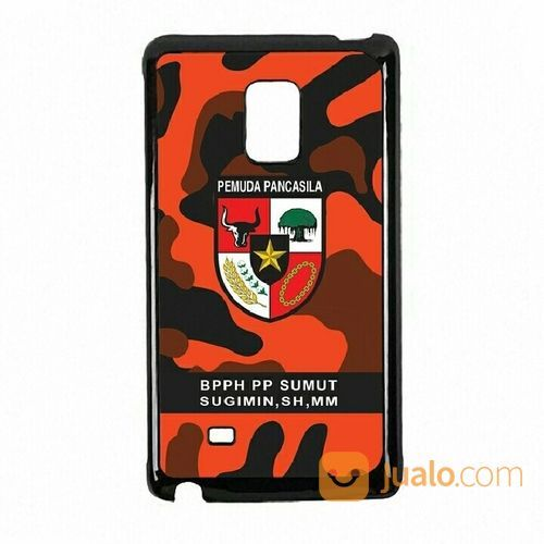 Pemuda Pancasila Camouflage Your Text Samsung Galaxy Note Edge Custom 2D (Black) Hard Case (18899135) di Kota Bekasi
