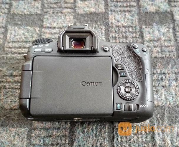 Canon 760D Ex-DS BO Body Only Fullset (18912443) di Kota Semarang