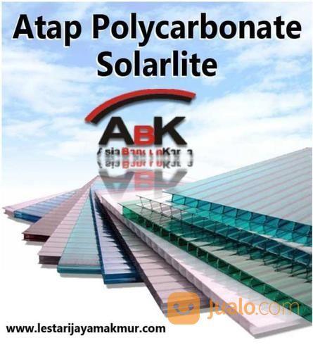 Atap Polycarbonate Solarlite Jasa Pemasangan Harga Sendiri