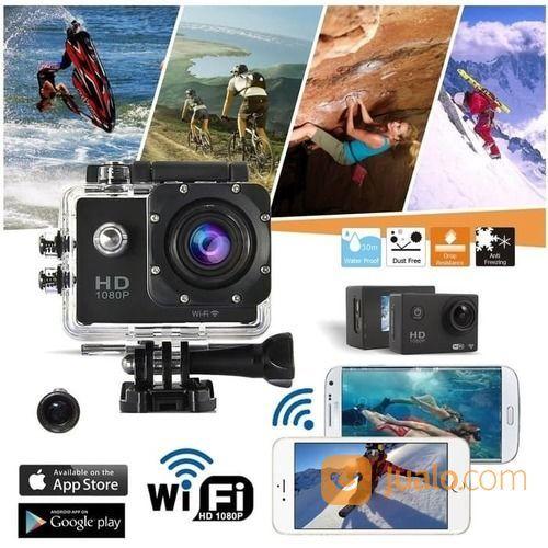 Promo Kogan Action Camera WIFI - Sport SJCAM Camera HD-DV 12MP 1080 Waterproof (18980679) di Kota Jakarta Utara