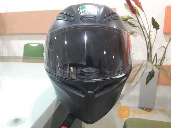 Helm Agv K1 Black Doff Double D Ring Jakarta Barat Jualo