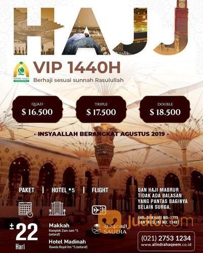 PAKET HAJI VIP 1440H (19000319) di Kota Tangerang