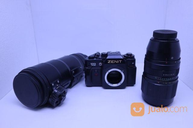 Kamera zenit 122 lens lensa kamera 19020159
