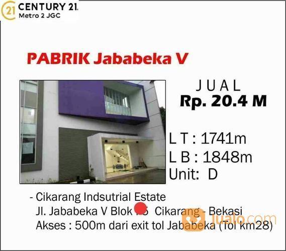 PABRIK JABABEKA V CIKARANG - BEKASI (19031091) di Kota Bekasi