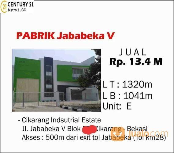PABRIK JABABEKA V CIKARANG - BEKASI 2 (19031423) di Kota Bekasi