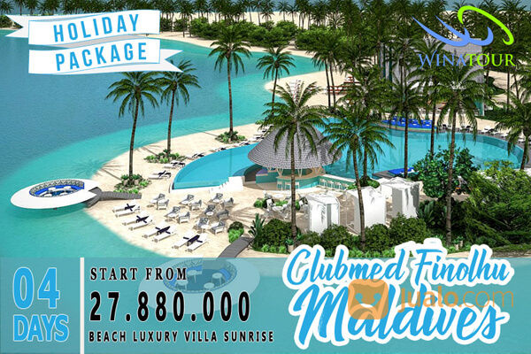 Paket Tour 4 Hari Clubmed Finolhu Maldives (19036943) di Kota Jakarta Pusat