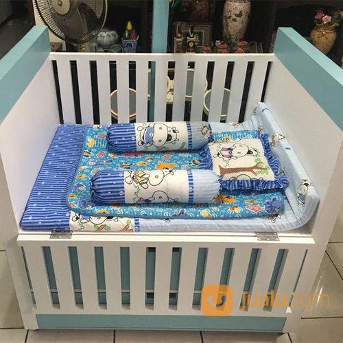 Tempat Tidur Box Bayi Dengan Pagar Berbahan Plywood Laminasi Hpl Jogja Kab Bantul Jualo