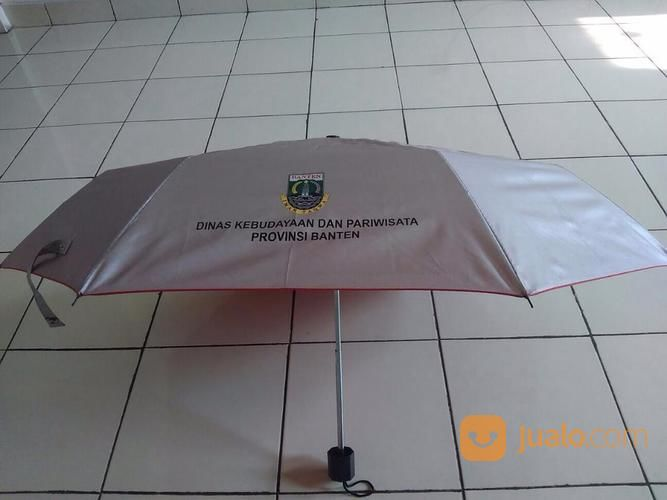 Payung Promosi Lipat 3 Dengan Rangka Silver (19040403) di Kota Tangerang