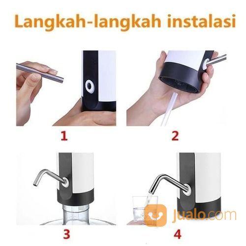 Pompa Galon Elektrik Usb Charge Pump Cas Pompa Galon Dispenser Air Pencet Otomatis Surabaya Jualo