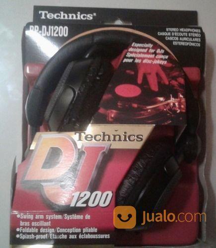 Headphone TECHNICS RP-DJ1200 2nd Stuff With Box ( Minus Di Busa Earpad ) (19052707) di Kota Jakarta Pusat