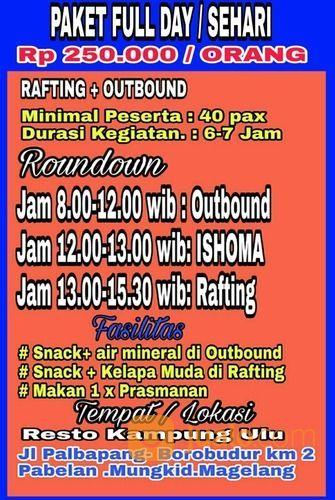 Info Arung Jeram Magelang (19093687) di Kota Magelang
