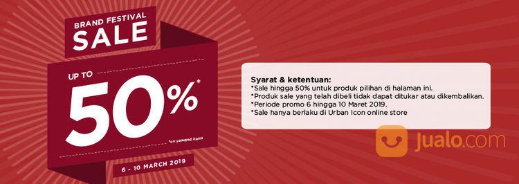 Brand Festival Sale Urban Icon Up Top 50% Jam Tangan Tas & Aksesoris Pria Wanita (19130907) di Kota Jakarta Pusat
