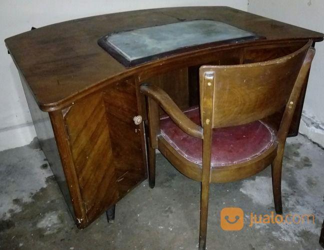 Meja Kantor Ex Menteri Jati Antik Th 50an Jakarta Selatan Jualo