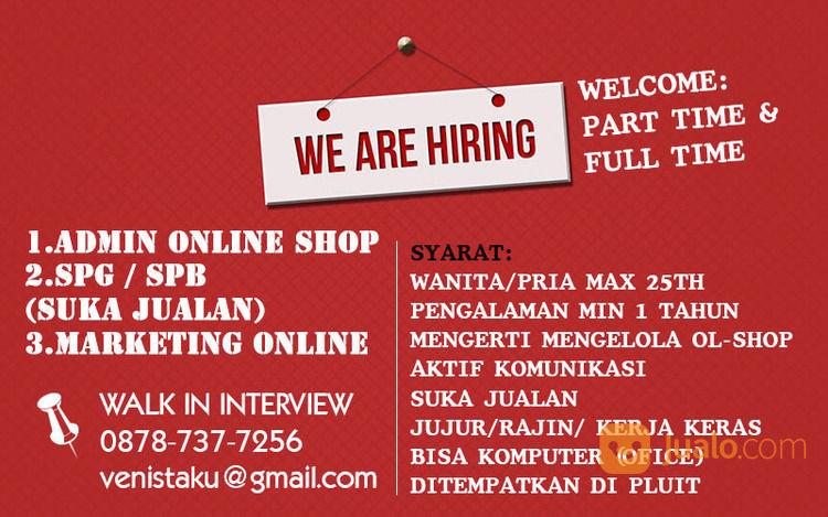 Lowongan Kerja Admin Online Shop Tangerang