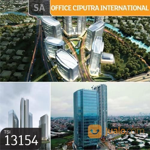 Office Ciputra International, Tower 3, Lt 15, Jakarta Barat, 114,62 M, PPJB (19151491) di Kota Jakarta Barat