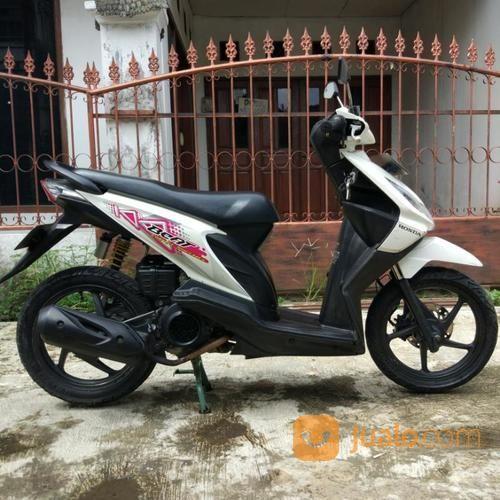 Honda Beat Cw 2011 Warna Putih Mulus Bandung Jualo