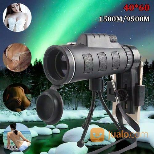 Teleskop Monocular Handphone HD Vision Zoom 40x60 / Telescope Teropong (19312151) di Kota Palembang