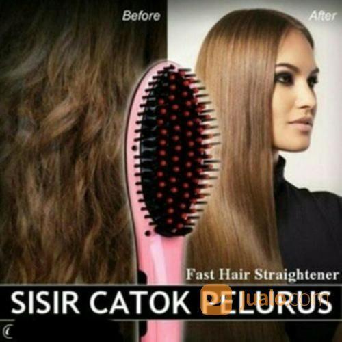 Sisir Catok Pelurus Rambut Hair Straightener Original (19335155) di Kota Surabaya