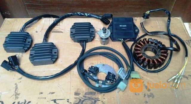 Spul / Regulator / Rotor Dll Suzuki GS500 (19376583) di Kota Jakarta Selatan