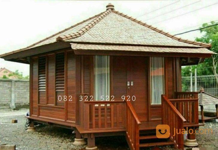 Rumah Kayu Gladak Minimalis, Rumah Kayu Homestay/Resort | Surabaya | Jualo
