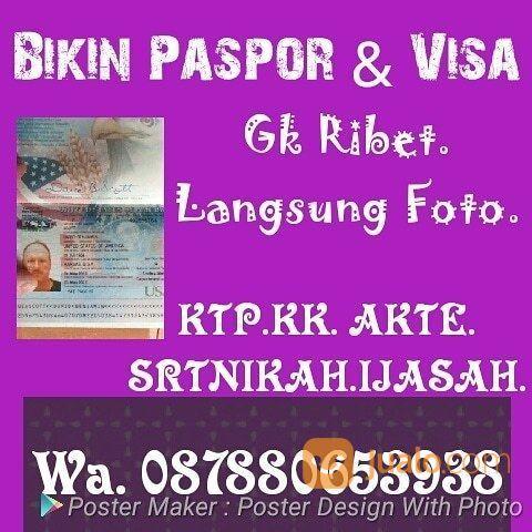 PROMO PASPOR GK RIBET LANGSUNG FOTO. (19386007) di Kota Jakarta Selatan