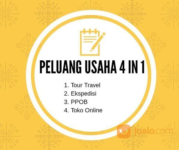 Peluang Usaha Termurah Modal Kecil 4 In 1 Tour Travel PPOB Ekspedisi (19406003) di Kota Semarang