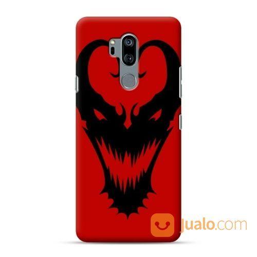 Venom Mask Red LG G7 Custom Hard Case (19412011) di Kota Bekasi