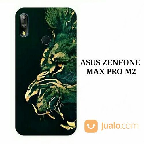 Lion Asus Zenfone Max Pro M2 (ZB631KL) Custom Hard Case (19472171) di Kota Bekasi