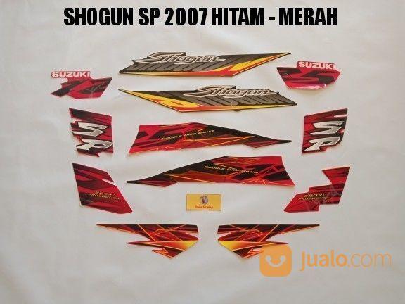 Striping Shogun SP 2007 Hitam - Merah (19479863) di Kota Jambi