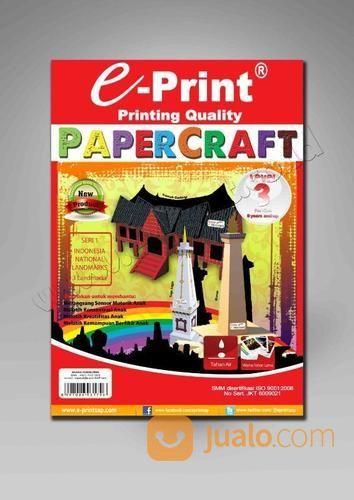 Kertas Craft Papercraft Level 3 (19503411) di Kab. Banjarnegara