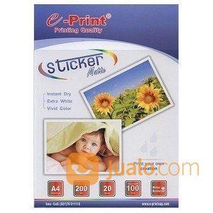 Kertas Stiker Kertas Sticker Matte Paper A4 Eprint 100gsm (19503791) di Kab. Banjarnegara