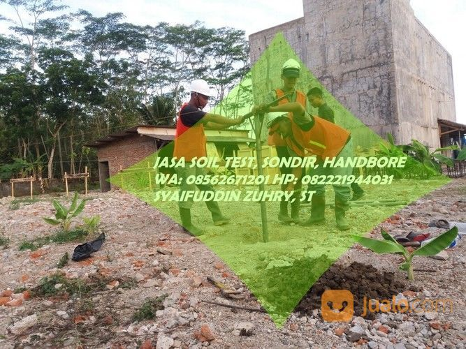 Jasa Soil Test Sondir Handbor Topografi Hammer Test Semarang Jualo
