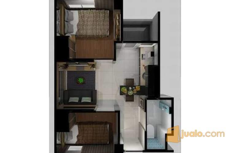 Dijual Apartemen Pancoran Riverside Pangadegan, Jakarta Selatan P0278 (1951070) di Kota Jakarta Selatan
