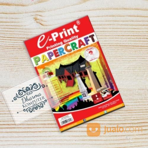 E-Print Paper Craft Level 3 (19511147) di Kab. Banjarnegara