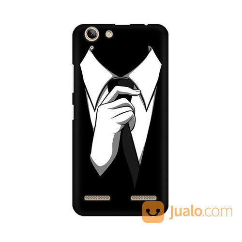 Anonymous Black Tie Lenovo Vibe K5 / K5 Plus Custom Hard Case (19511403) di Kota Bekasi