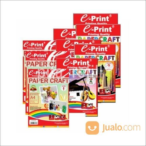 Pita Refill Merek E-Print Paper Craft Level (19511691) di Kab. Banjarnegara