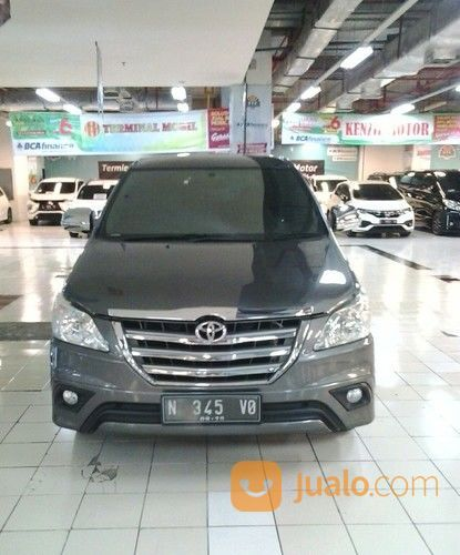 Grand New Innova G Bsn Mt 2015 Grey (19530351) di Kota Malang