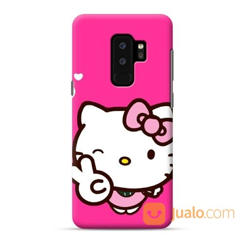 Pink Hello Kitty Yes Heart Samsung Galaxy S9 Plus Custom Hard Case (19550031) di Kota Bekasi