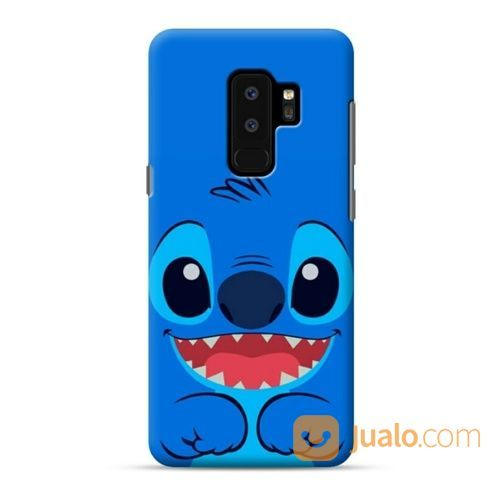 Stitch Smiling Face Samsung Galaxy S9 Plus Custom Hard Case (19571099) di Kota Bekasi