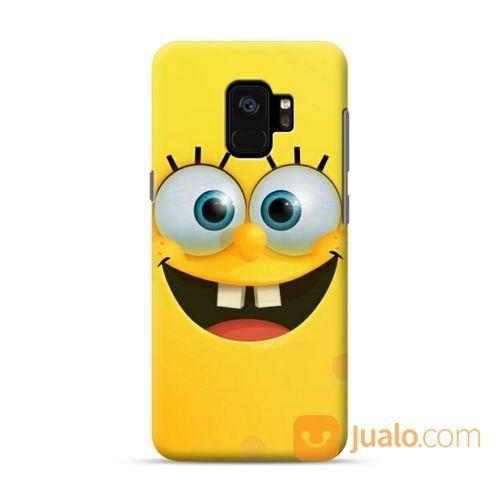 Spongebob Smiling Face Samsung Galaxy S9 Custom Hard Case (19588779) di Kota Bekasi